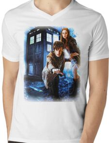 Action figures of Doctor Hoodie / T-Shirt Mens V-Neck T-Shirt