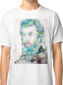 HERMAN MELVILLE - watercolor portrait Classic T-Shirt