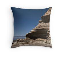 Sand Stone Throw Pillow