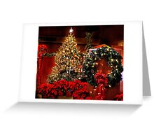 Glittering Decorations Greeting Card