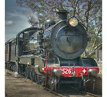 Engine No. 3526, NSW Rail Transport Museum Photographic Print