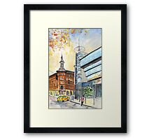Budapest Ancient And Modern Framed Print