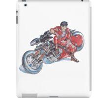 Akira by Katsuhiro Otomo Watercolor Tribute to Kaneda iPad Case/Skin