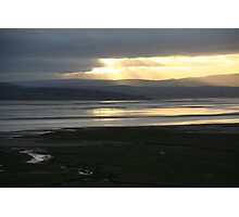 Morecambe Bay from Grange-over-Sands Photographic Print