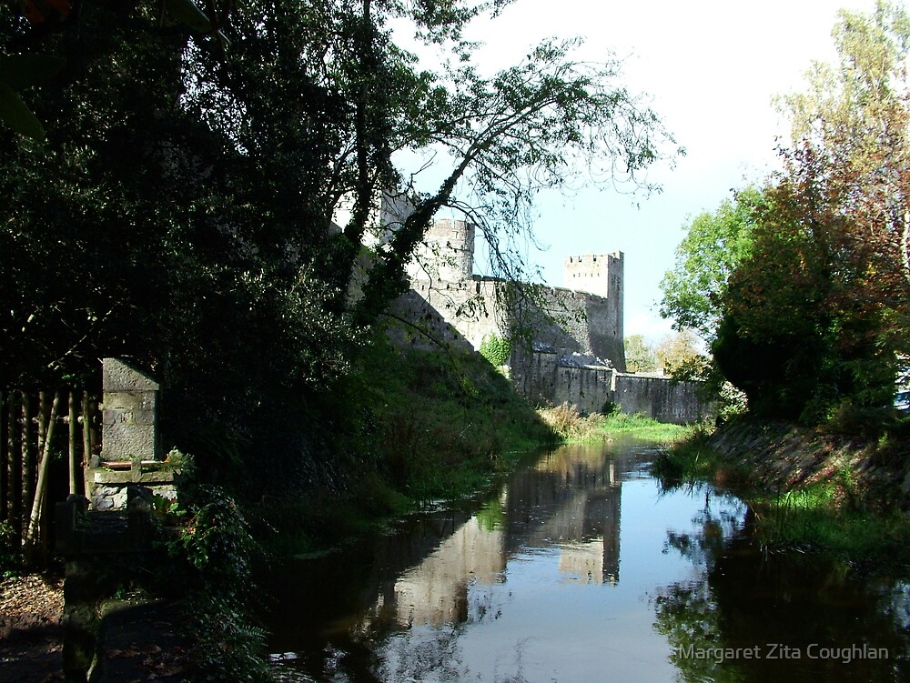 Cahir Castle, Tipperary, Ireland by Margaret Zita Coughlan