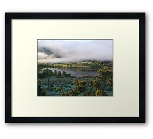 dawn mist  Framed Print