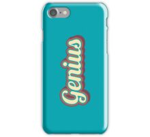 Genius iPhone Case/Skin