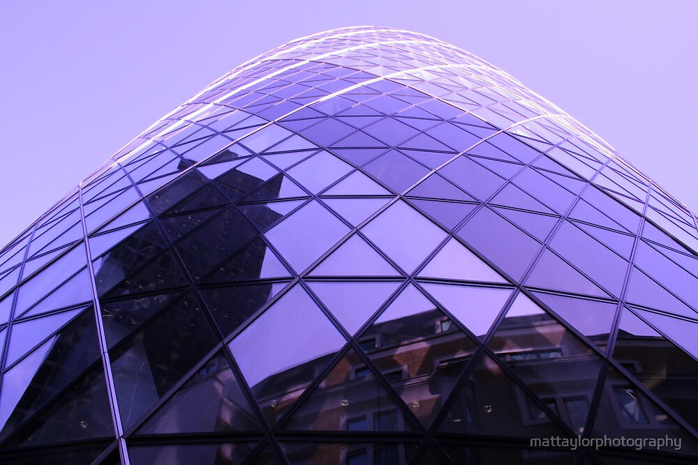 Gurkin Building by mattaylorphotography