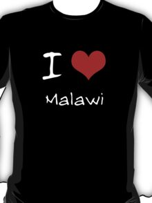 I love Heart Malawi T-Shirt