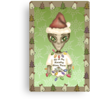 Extraterrestrial Elf Canvas Print