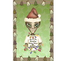 Extraterrestrial Elf Photographic Print