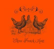 3 French Hens Kids Tee