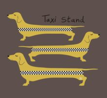 Taxi Stand Weenie Dogs Kids Clothes