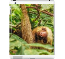 Smiley Sloth iPad Case/Skin