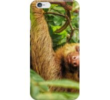 Smiley Sloth iPhone Case/Skin