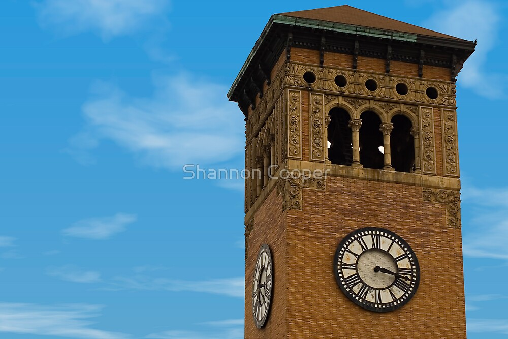Tacoma Clock Tower by Shannon Beauford
