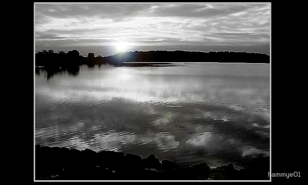 Black and White Sunset by hammye01