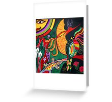 Mexican jungle 1 Greeting Card