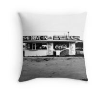 41 Drive In-Manchester Tennessee Throw Pillow