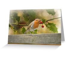 Wonderful Christmas time` Greeting Card