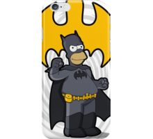 bat-homer: the Simpsons superheroes iPhone Case/Skin