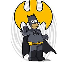 bat-homer: the Simpsons superheroes by logoloco