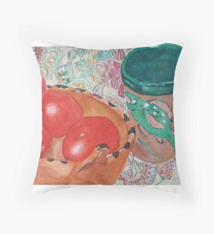 Big Fish Fiesta Throw Pillow