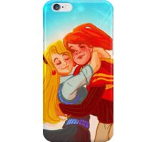 Ginny and Luna hug iPhone Case/Skin