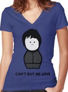 Paul McCartney Women's Fitted V-Neck T-Shirt