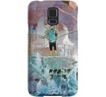 Capitaine Haddock Samsung Galaxy Case/Skin