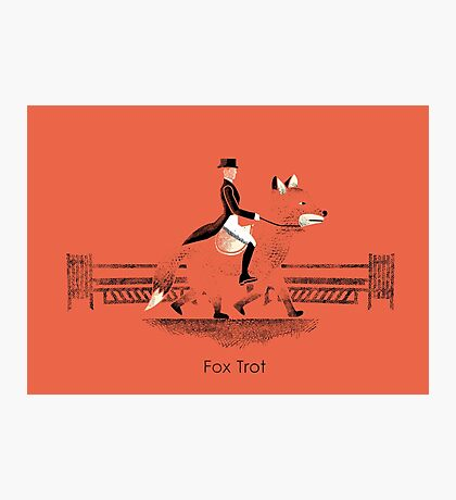 Fox Trot Photographic Print
