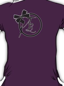 Customizable Collection #01: Fancy Bow Initials T-Shirt
