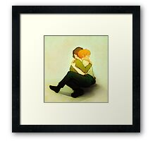 moony and padfoot Framed Print