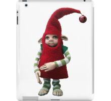 Happy Holiday Helper - Xmas Elf  iPad Case/Skin