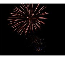 Firework5 Photographic Print