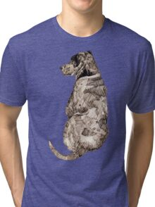Mans Best Friend Tri-blend T-Shirt