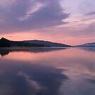 Symmetrical Sunrise, Loch Rannoch by PigleT