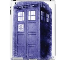 Blue Box Hoodie / T-shirt iPad Case/Skin