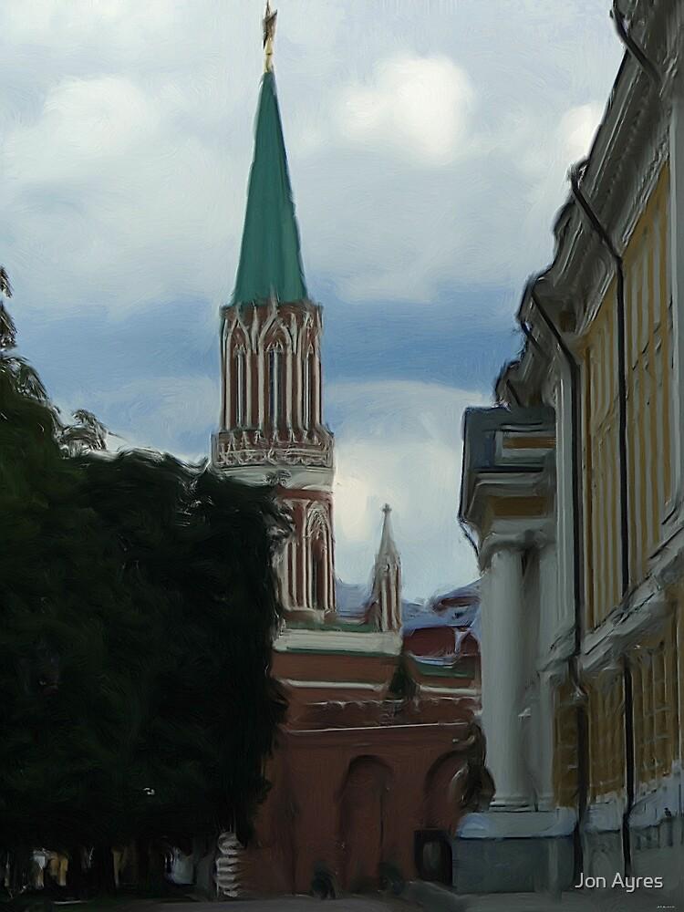 Nikolskaya Tower by Jon Ayres