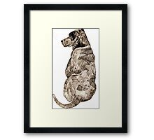 Mans Best Friend Framed Print