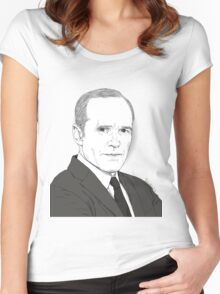 Agent Coulson Women's Fitted Scoop T-Shirt
