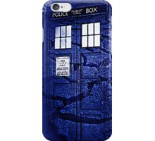 Scratch Blue Box Hoodie / T-shirt iPhone Case/Skin