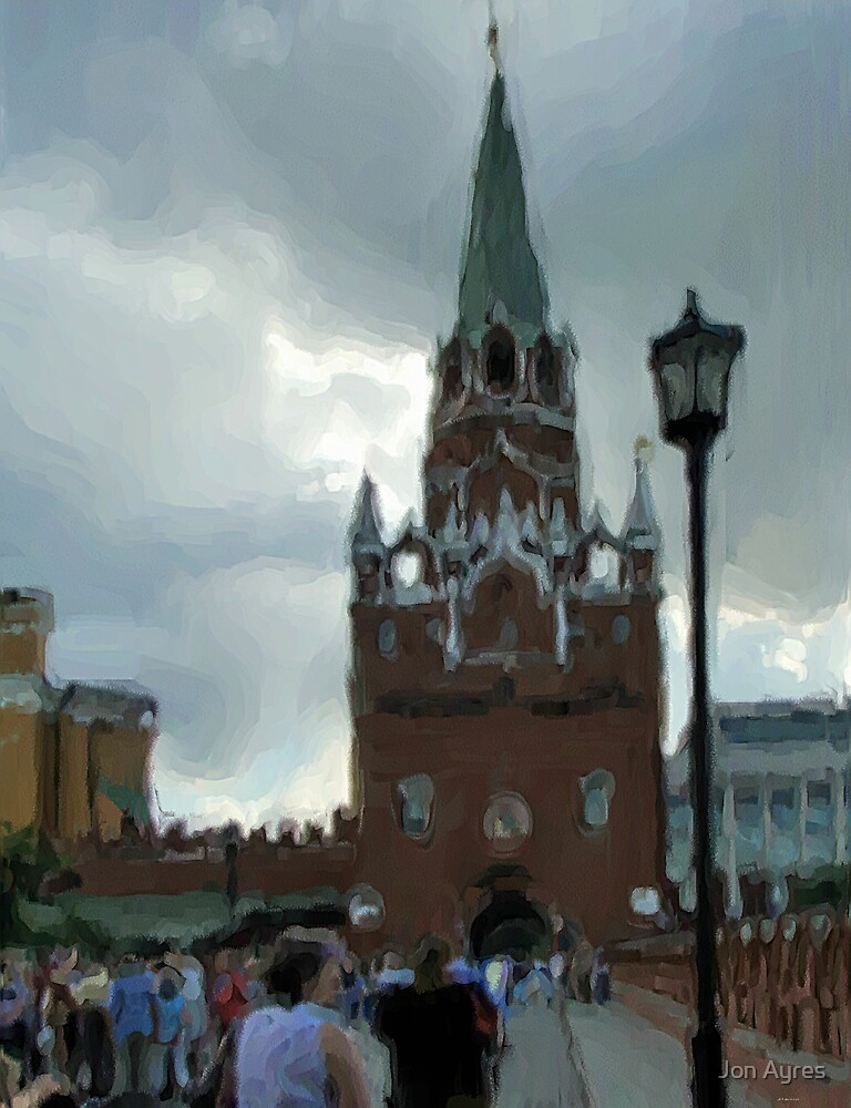 Troitskaya Tower by Jon Ayres