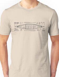 Canoeing Unisex T-Shirt