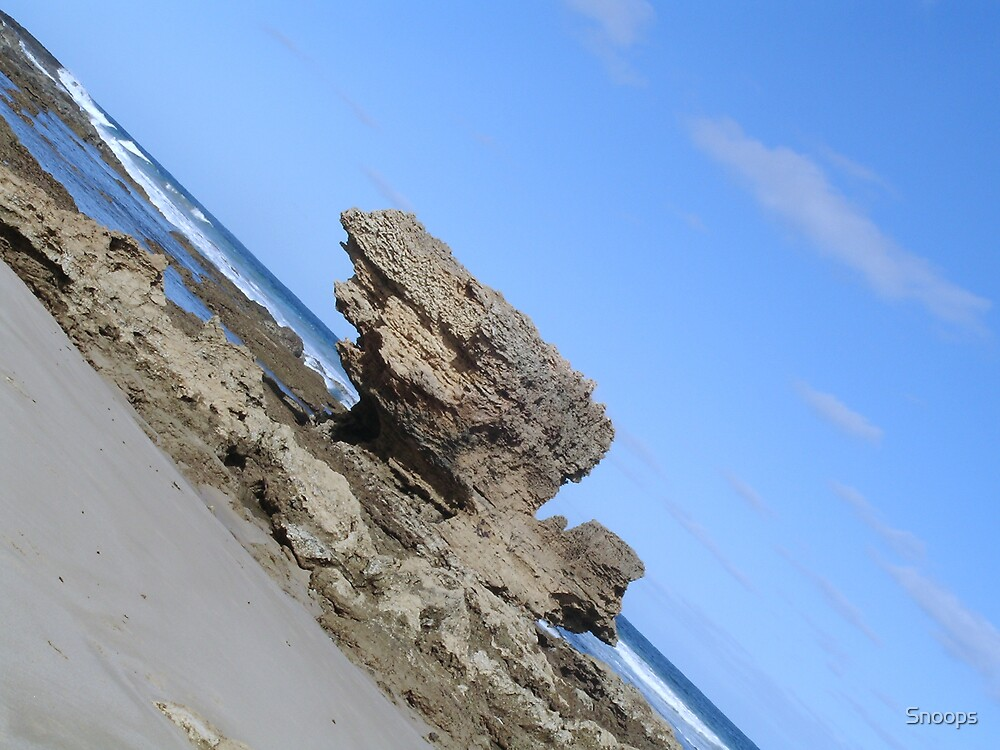 Rock formation by Snoops