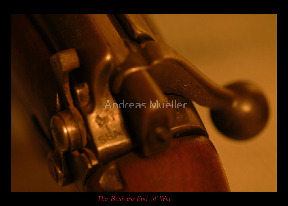 The Business End of War by Andreas Mueller