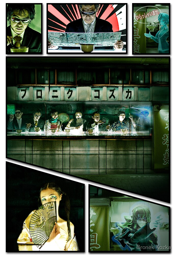 Manga 001 by Bronek Kozka