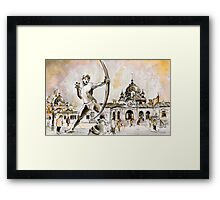 The Archer From Budapest Framed Print