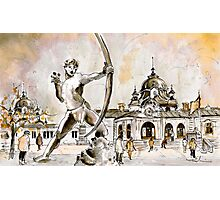 The Archer From Budapest Photographic Print