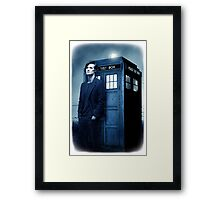 doctor smith tee Tardis Hoodie / T-shirt Framed Print